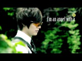 Kim Na Na and Lee Yoon Sung-Angel with a shotgun