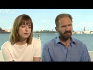 Dakota Johnson and Ralph Fiennes Discuss Nude Scenes