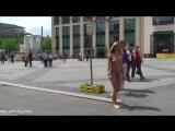 Celine Nude in Public 2