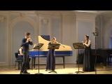 Георг Филипп Телеман 4ый квартет для флейты, гобоя, скрипки и b.c. a-moll Adagio  Allegro