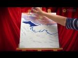 Как раскрашивать картины-раскраски по номерам на холсте