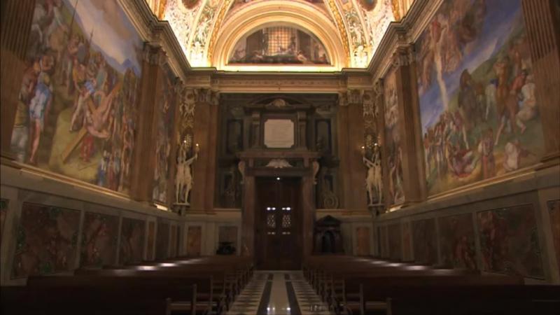 Микеланджело׃ Капелла Паолина (Ватикан) / la Cappella Paolina in Vaticano