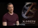Interview de James McAvoy pour X-Men : Apocalypse