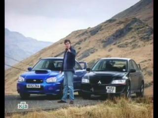 TOP GEAR - Как нужно было бы назвать Mitsubishi EVO 8 и Subaru Impreza WRX STI