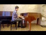 Антон Никулин играет Бетховена (Лунная соната 3 часть, Presto agitato)