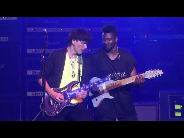 Building the Church Steve Vai Tosin Abasi@Count Basie Red Bank, NJ 5/9/16