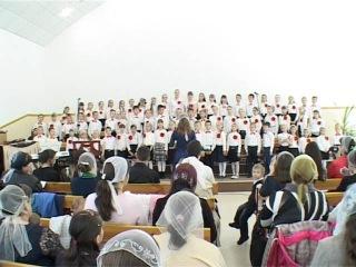 Измаил церковь Эммануил. Детский хор 201