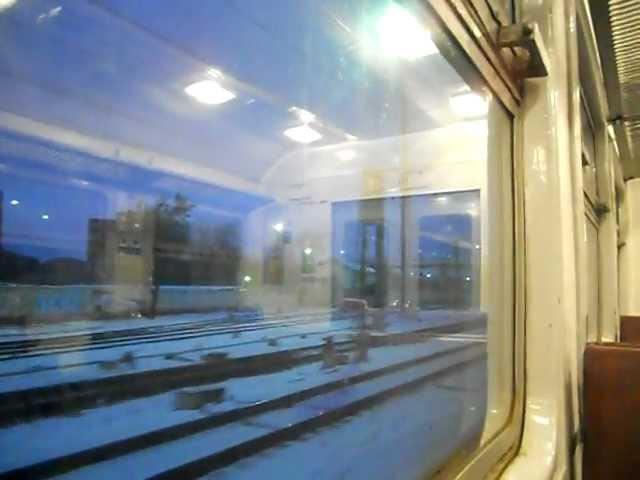 Moskwa, poranna podróż w ED2T / Москва, утренняя поездка на ЭД2Т