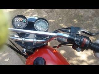 Тюнинг мотоцикла Минск#1.Карбюратор от явы 6V