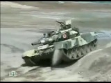 Российский танк Т-90 против английского абрамса