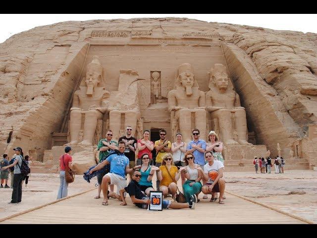 Экскурсия в Абу-Симбел. Египет