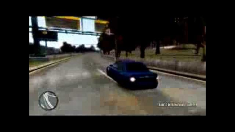 Grand theft auto 4 Lada priora .Бпан.