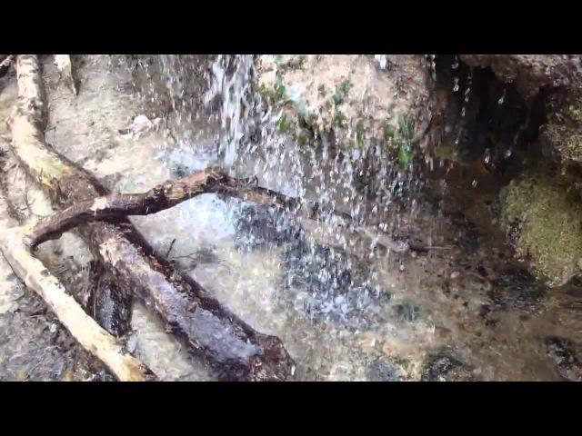 Травертиновый водопад / природа / Ставрополь / Россия