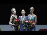 Эфир телеканала Первый: Евгения Медведева, Анна Погорилая. Фрагмент программы