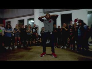 Matt Steffanina Choreography   ft. Fik-Shun   Rihanna - Work (DJ AceMula Remix)