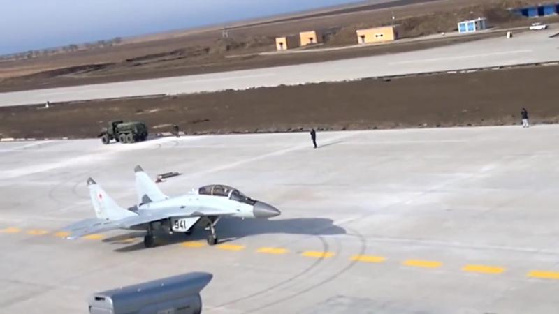 Takeoff MiG-29K, NITKA, Yeisk 2