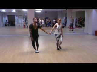 Salsa Cuban (music) | Yoandy Villaurrutia & Diana Rodriguez | New Style /HWS'16