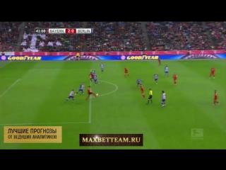 Бавария-Герта 2-0 обзор матча в hd 28.11.2015 от команды maxbetteam.ru
