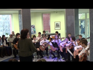 Конкурс в ДШИ Глинки . Оркестр