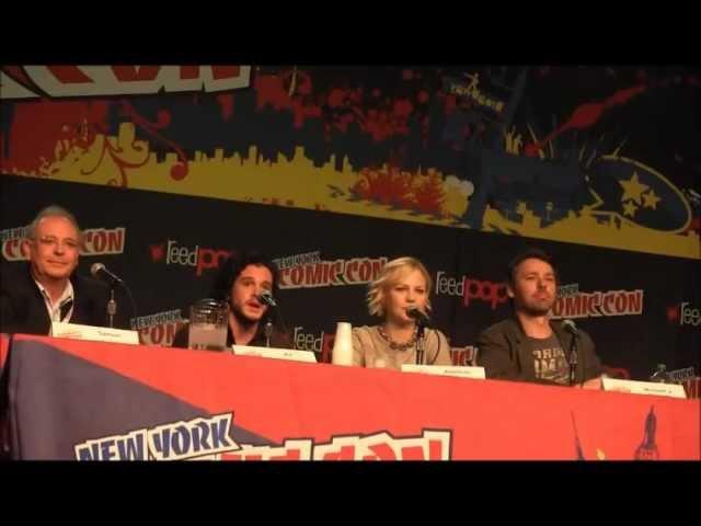 Silent Hill: Revelation 3D Panel NY Comic Con 2012 (Kit Harrington)