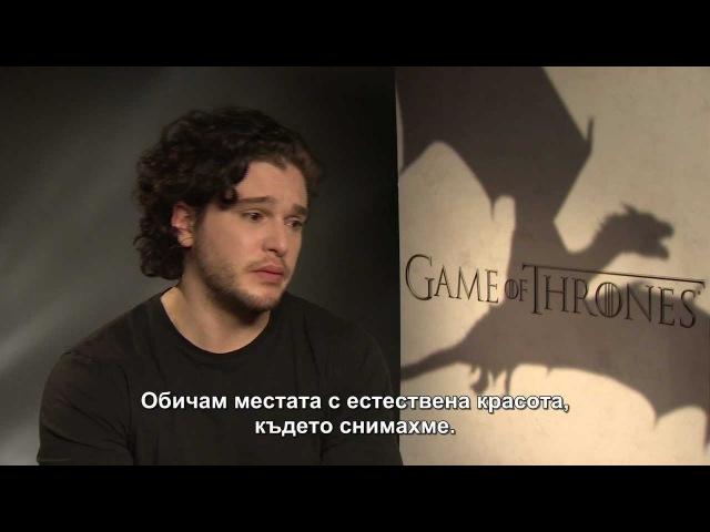 Game of Thrones III - Kit Harington for HBO Bulgaria, London, 02.2013