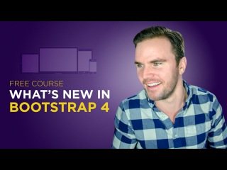 Bootstrap 4 Tutorial #1 What's New in Bootstrap 4