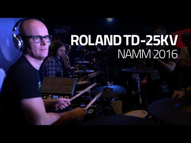 Roland TD-25KV Demo 2 by Michael Schack - Drumeo NAMM 2016