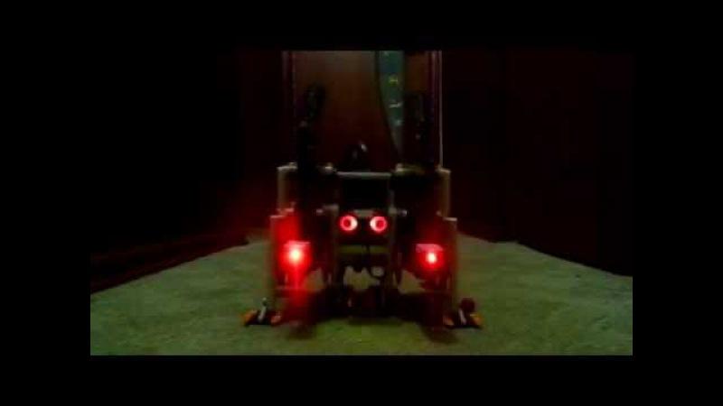 Шагающий робот - шагозавр. Инструкция по сборке. Lego Mindstorms EV3.