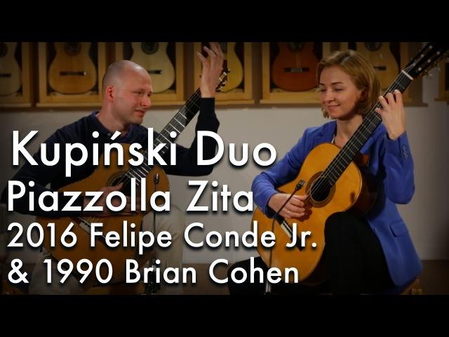 Kupiński Duo - Piazzolla Zita (Felipe Conde Jr. Brian Cohen)