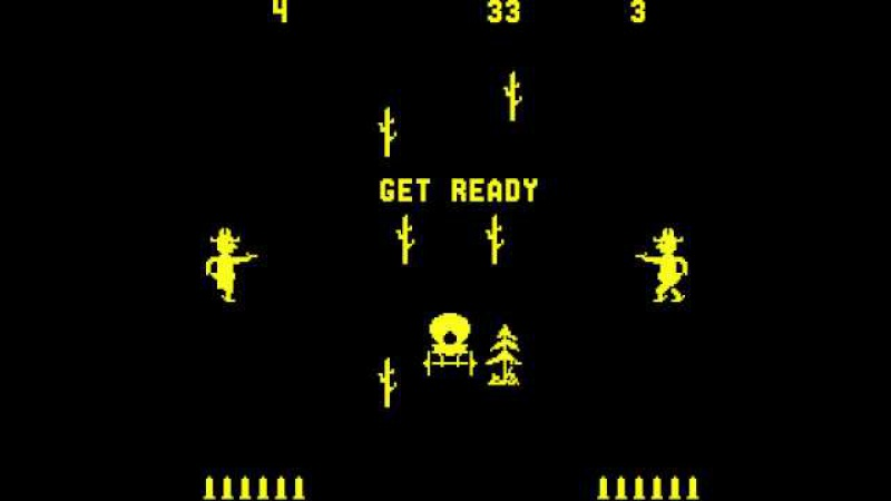 Arcade Game Gun Fight (1975 MidwayDave Nutting Associates) [Re-Uploaded]