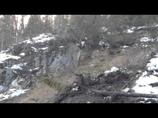 Landslide Elk City, ID. Feb. 18, 2016 Bret Edwards
