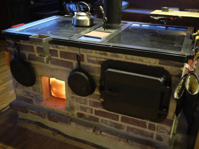 Walker Wood Fired Masonry Cookstove and Oven Introduction and Overview