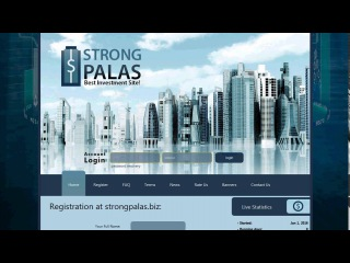 Инвестиции, Зароботок! Новая Компания! StrongPalas В рейтингах на Первых Местах!