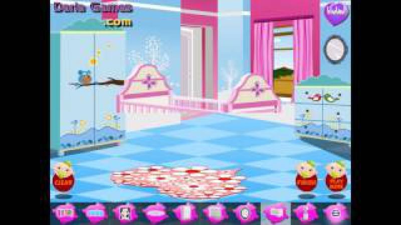 NEW мультик онлайн для девочек—Комната для маленьких принцесс—Игры для детей
