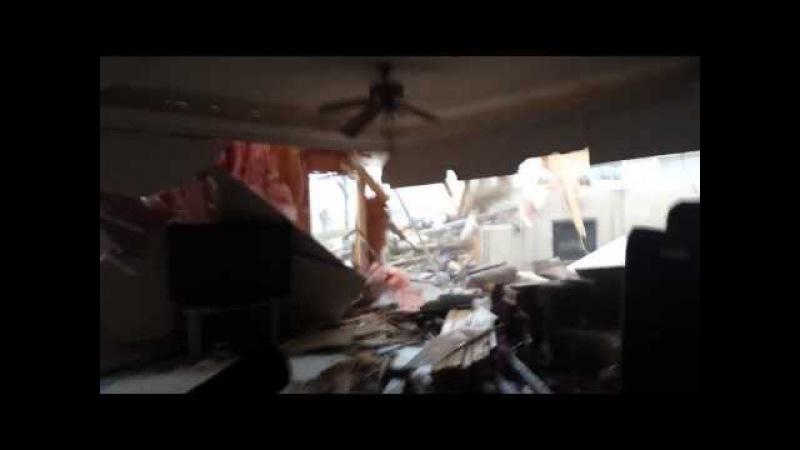 Il film la tornade qui traverse sa maison