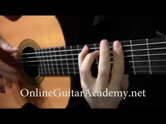 The Four Seasons, Winter, 3rd mvt, A.Vivaldi (solo classical guitar arrangement by Emre Sabuncuoglu)