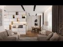 Обзор 3-к квартиры 71 кв.м. Дизайн интерьера квартиры в Екатеринбурге