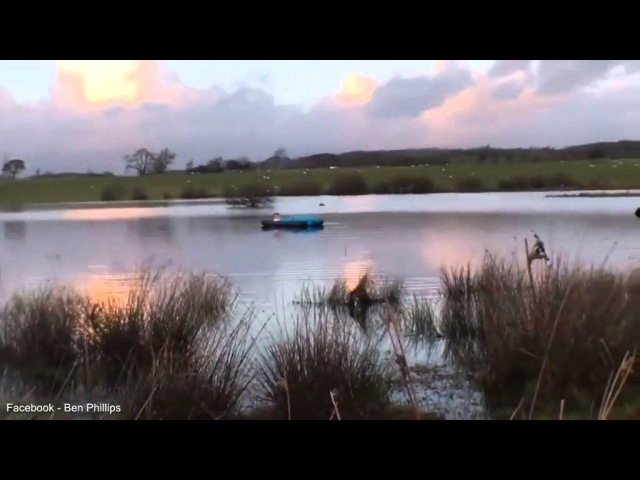 Daily Mail - Prankster drags friend onto Lake via Air Mattress