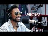 Miguel Freestyles, Talks Jumping on Fan & New Album!   BigBoyTV