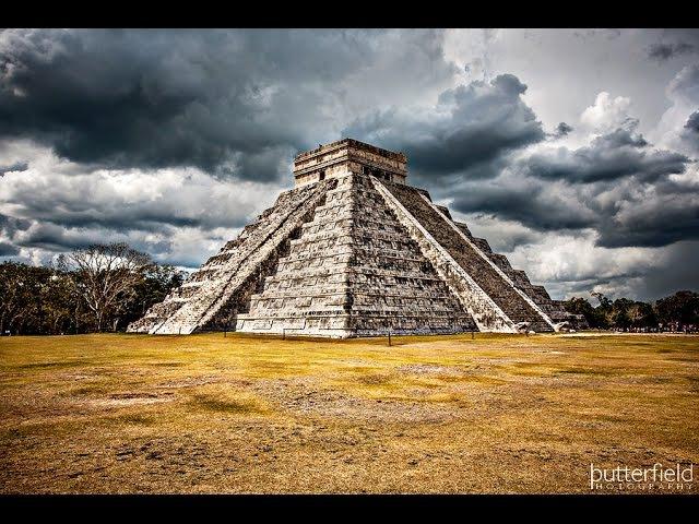 Древняя Пирамида Кукулькана - Чичен-Ица, Мексика (Kukulkan, Chichen Itza)