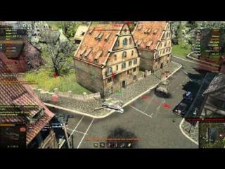 World Of Tanks Ласвилль Заварушка в Городе E 25