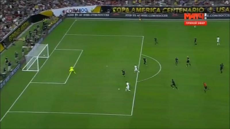 США - Колумбия 0-1 Матч за 3-е место Кубок Америки 2016 (26 июня 2016)