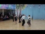 1-Региональный турнир по спортивным танцам, Латиноамериканская программа,   1 заход, Танец ДЖАЙВ))