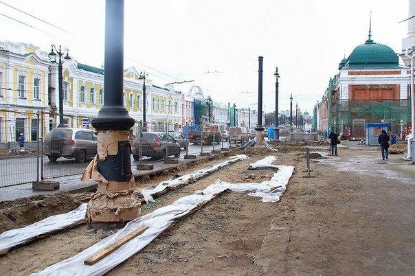 Парковок на Любинском проспекте точно не будет – подрядчик #ОмскОнлайн #омск #55регион #новости