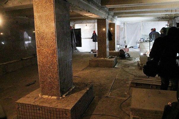 В подземном переходе на Ленина будут лавочки для музыкантов #ОмскОнлайн #омск #55регион #новости