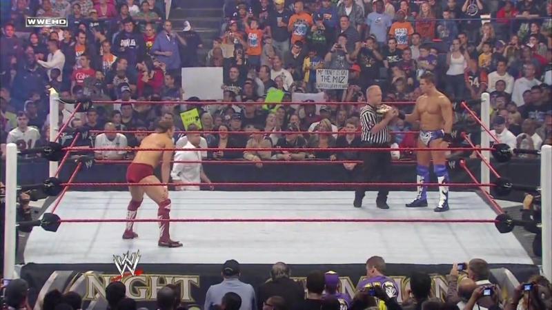 (WWEWM) Миз пр. Дэниел Брайан (19.09.2010, Night of Champions)