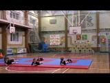 Вика на дне открытых дверей в спортивной школе