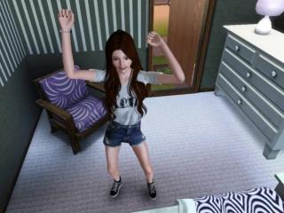 Танцуем под Borderline с Линой:3