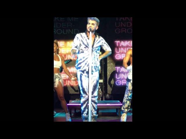 Adam Lambert - Lay me Down, Shady, Fever at Munich 6th May 2016