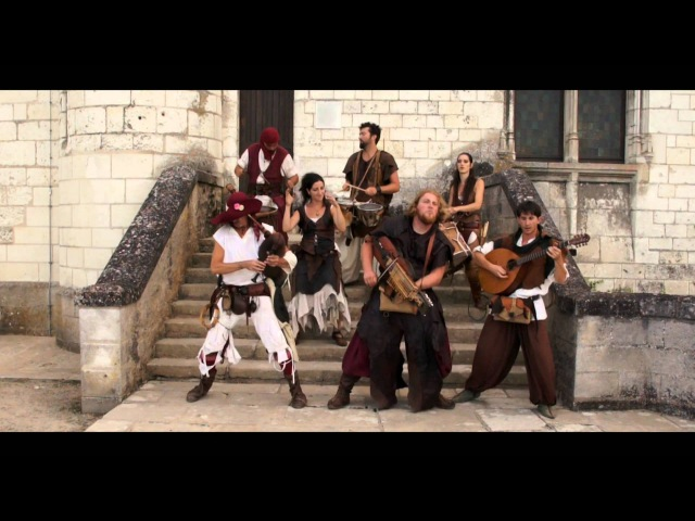 Medieval music .Les Compagnons du Gras Jambon. Middle ages.Heiduckentanz